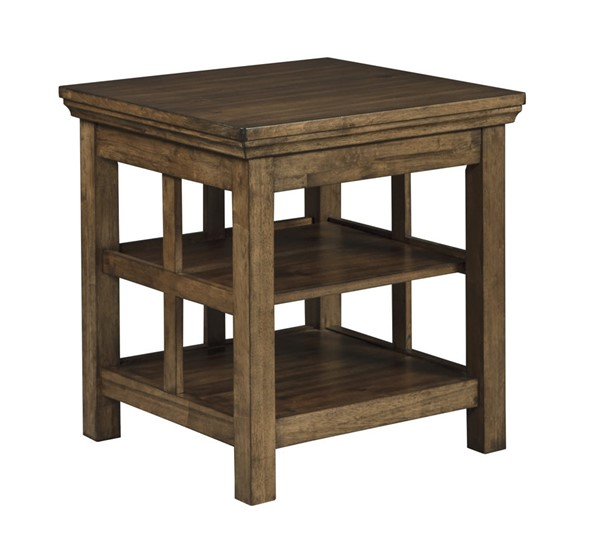 Ashley Furniture Flynnter Square End Table The Classy Home