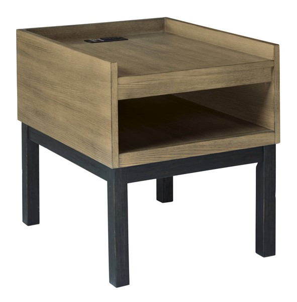 Ashley Furniture Fridley Two Tone Rectangular End Table T920-3