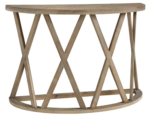 Ashley Furniture Glasslore Light Brown Sofa Table T921-4
