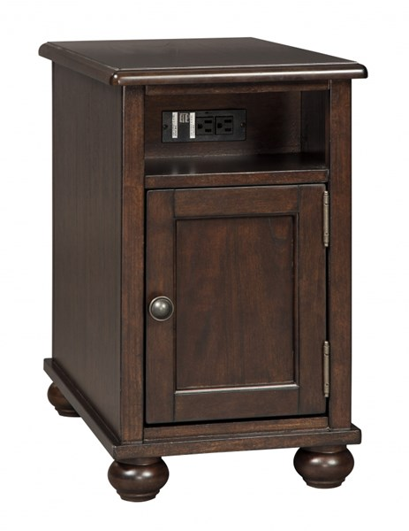 Ashley Furniture Barilanni Dark Brown Chair Side Table T934-7