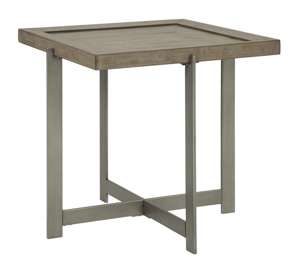 Ashley Furniture Krystanza Bisque Square End Table T944-2