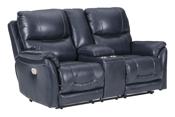 Ashley Furniture Dellington Marine Power Recliner Loveseat With Adjustable Headrest U1150618