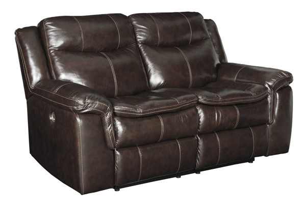 Ashley Furniture Lockesburg Canyon Reclining Power Loveseat U3360174