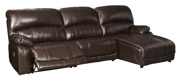 Ashley Furniture Hallstrung 3pc Power RAF Sectionals With Chaise U5240-SEC-VAR2