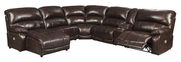 Ashley Furniture Hallstrung 6pc Power LAF Sectionals With Chaise U5240-SEC-VAR7
