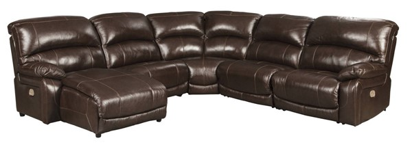 Ashley Furniture Hallstrung 5pc Power LAF Sectionals With Chaise U5240-SEC-VAR8