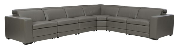 Ashley Furniture Texline Leather 7pc Power Reclining Sectionals U59604-SEC-VAR