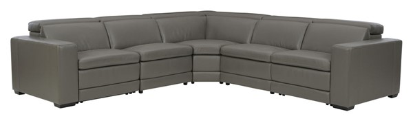 Ashley Furniture Texline Leather 6pc Power Reclining Sectionals U5960-SEC2-VAR