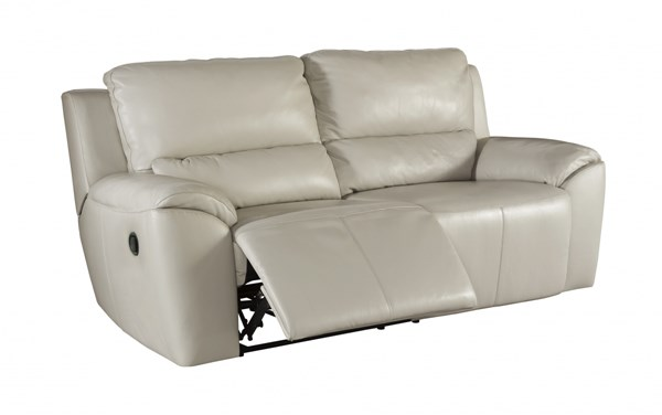 Ashley Furniture Valeton Cream 2 Seat Reclining Sofa The