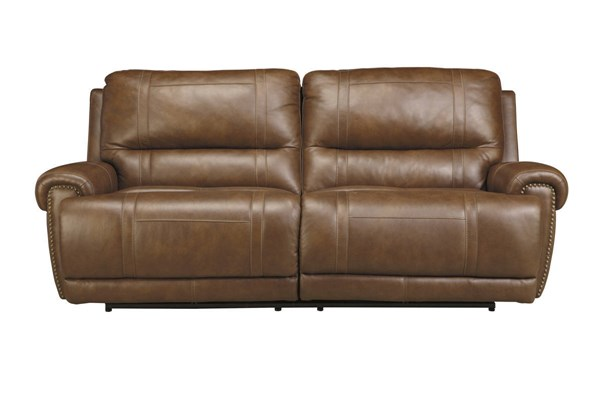 Paron Contemporary Metal Leather Nailheads Sofas U7590-SF-VAR