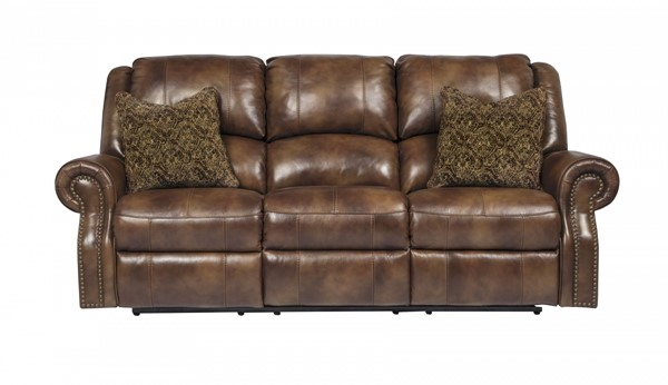 Walworth Traditional Metal Leather Reclining Sofas U7800188-SF-VAR