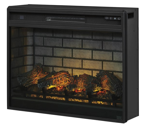 Ashley Entertainment Accessories Black LG Fireplace Insert Infrared W100-121