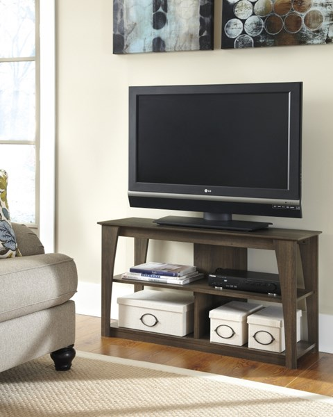 Ashley Furniture Frantin Brown Wood TV Stand W129-10