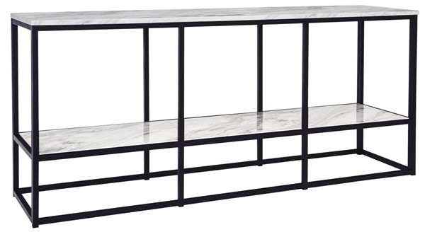 Ashley Furniture Donnesta Gray Black Extra Large TV Stand W192-10