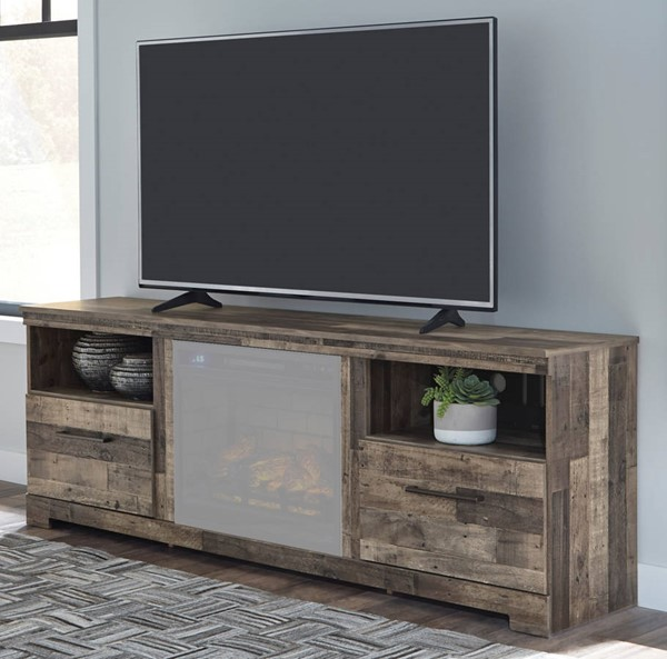 Ashley Furniture Derekson Gray XL TV Stand W200-268