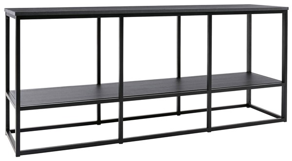 Ashley Furniture Yarlow Black Extra Large TV Stand W215-10