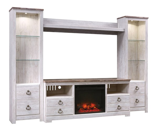 Ashley Furniture Willowton Entertainment Center With