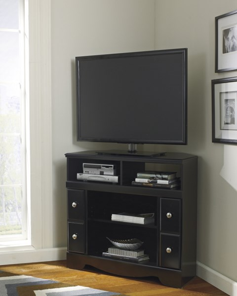 Ashley Furniture Shay Corner TV Stand with Option Fireplace W271-12