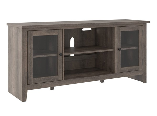 Ashley Furniture Arlenbry Gray LG TV Stand With Fireplace Option W275-68