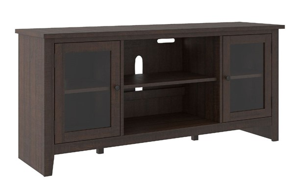 Ashley Furniture Camiburg Warm Brown LG TV Stand With Fireplace Option W283-68