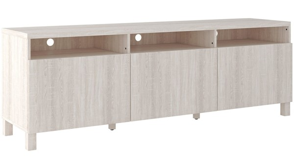 Ashley Furniture Dorrinson Two Tone Extra Large TV Stand W287-66