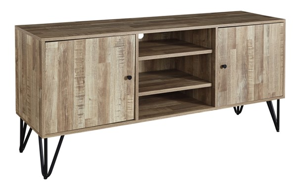 Ashley Furniture Gerdanet Natural Large TV Stand W320-48