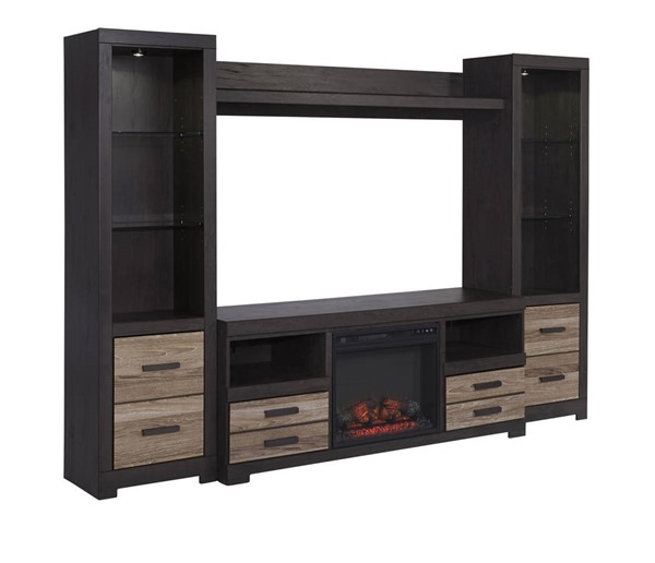 Ashley Furniture Harlinton Center With Fireplace W325-ENT-S3