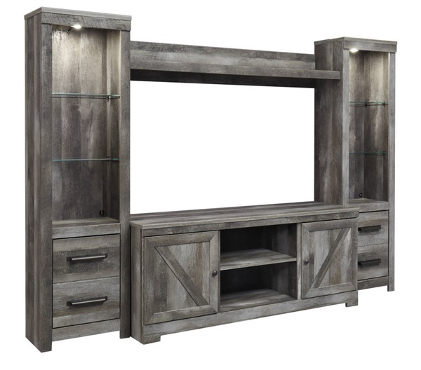 Ashley Furniture Wynnlow Gray Entertainment Centers W440-ENT-S-VAR
