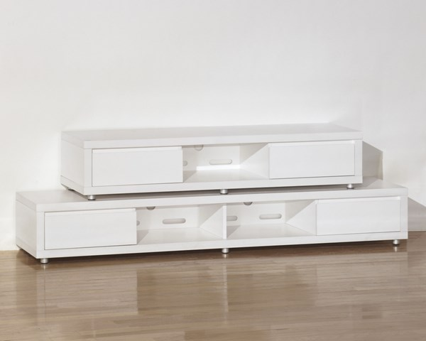 honolulu white wood d large tv stand the classy home. Black Bedroom Furniture Sets. Home Design Ideas
