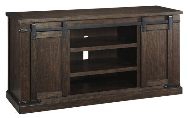 Ashley Furniture Budmore Brown Large TV Stand W562-48