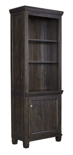 Townser Traditional Grayish Brown Solid Wood Left Pier W636-33