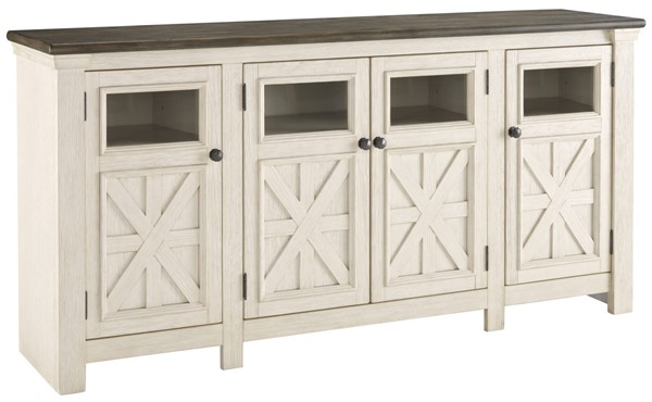 Ashley Furniture Bolanburg Extra Large Tv Stand The Classy Home