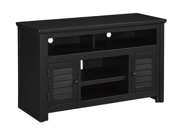 Brasenhaus Vintage Casual Black Medium TV Stand W661-28