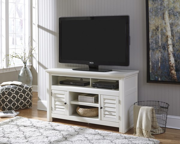 Idonburg Vintage Casual White Medium TV Stand W662-28
