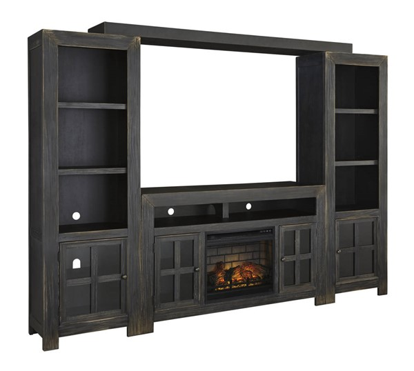 Ashley Furniture Gavelston TV Stand With Infrared Fireplace W732-ENT-S3