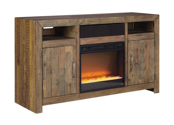 Ashley Furniture Sommerford Tv Stand With Fireplace And