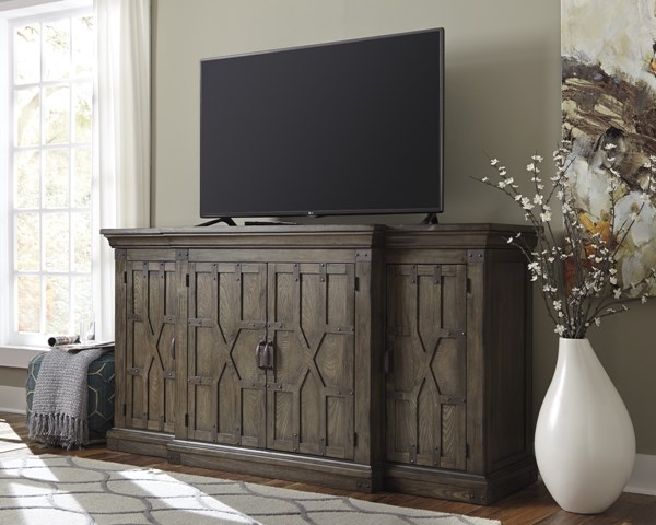 Burladen Urbanology Grayish Brown Extra Large TV Stand W846-48