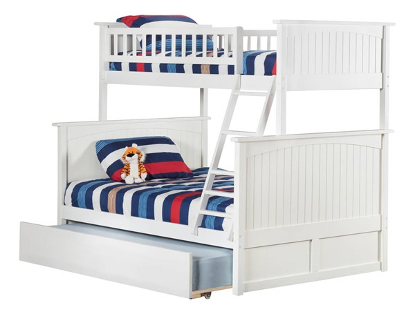 Atlantic Furniture Nantucket Bunk Beds with Urban Trundle AB5927-BB-VAR