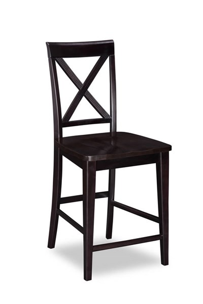 Lexi Solid Wood Seat Pub Chairs AD77224-BS-VAR
