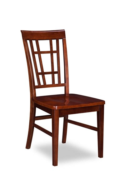 2 Montego Bay Walnut Solid Wood Seat Dining Chairs AD773144