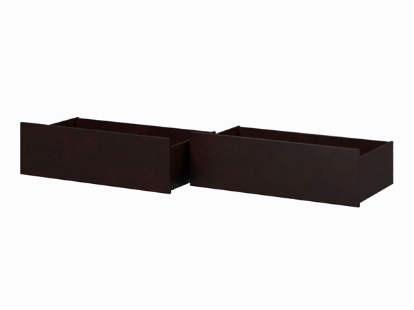 Atlantic Furniture Espresso Urban Queen King Bed Drawers Only AE663141