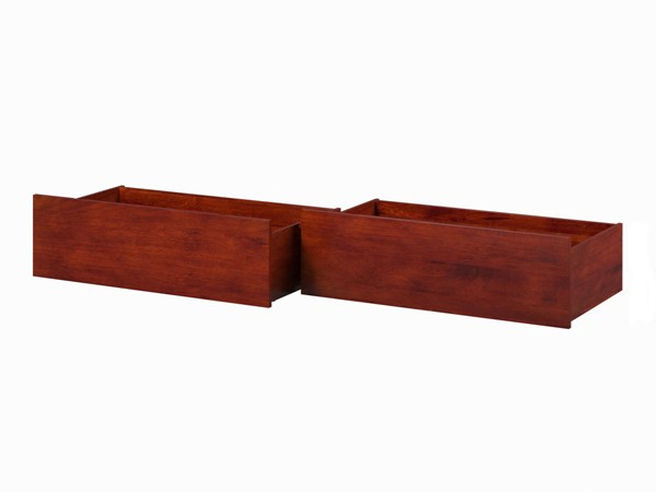 Atlantic Furniture Walnut Urban Queen King Bed Drawers Only AE663144