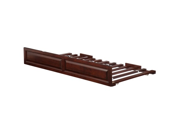 Atlantic Furniture Walnut Raised Panel Twin Trundle Only AE673024