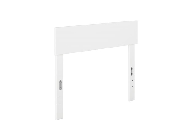 Atlantic Furniture Boston White Twin Panel Headboard AG8100122