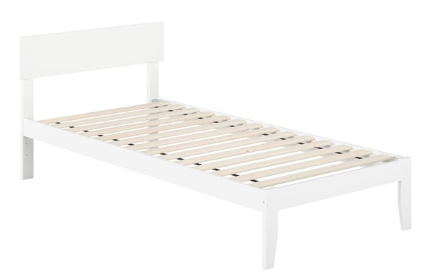 Atlantic Furniture Boston White Twin XL Bed AG8110012
