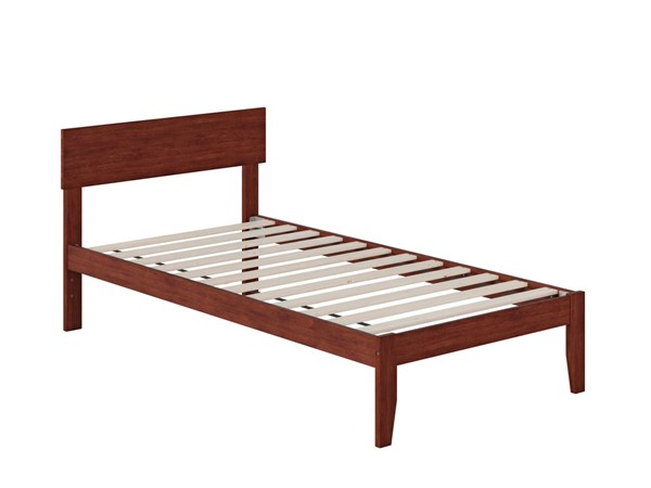 Atlantic Furniture Boston Walnut Twin Platform Bed AG8110024
