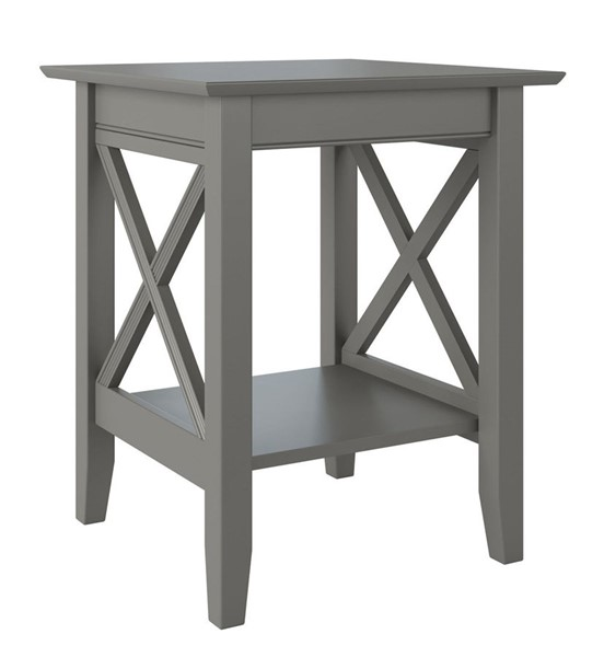 Atlantic Furniture Lexi Grey Printer Stand AH10249
