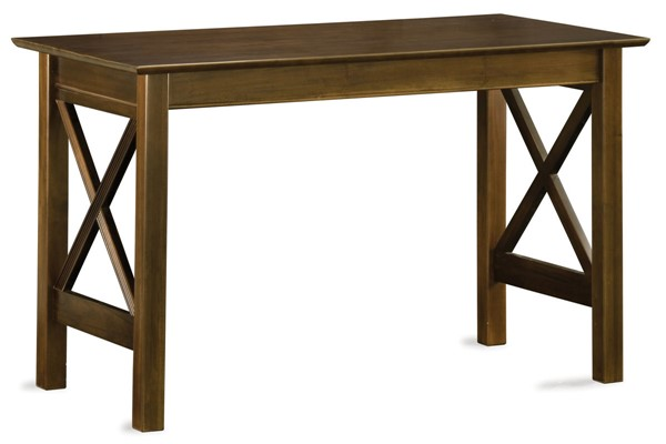 Atlantic Furniture Lexi Walnut Work Table AH11234