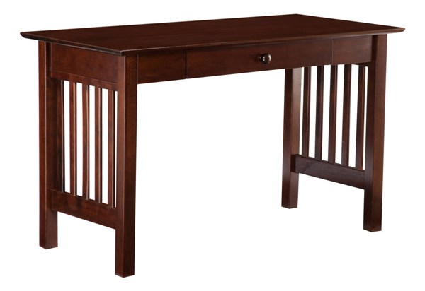 Atlantic Furniture Mission Walnut Drawer Desk AH12214