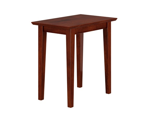 Atlantic Furniture Shaker Walnut Chair Side Table AH13104